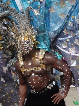 Costume detail, POS, Trinidad
