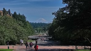 Mt Rainier from Washington University